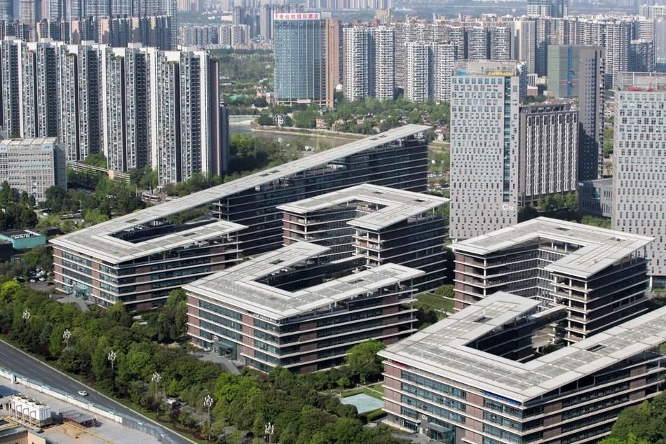 Chengdu Tianfu Software Park Photo/Zhang Jian (NBD)