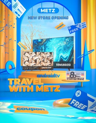 METZ Online Store Opening in Spain, Presenting a Brand-New Visual Experience with German Smart TV