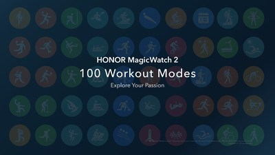 HONOR MagicWatch2 100 Workout Modes