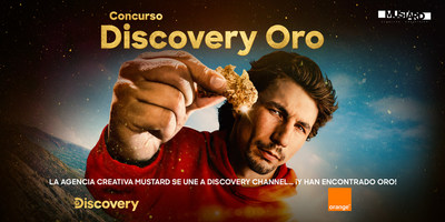 La agencia creativa Mustard se une a Discovery Channel… ¡y han encontrado oro!