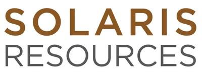Logo: Solaris Resources Inc. (CNW Group/Solaris Resources Inc.)