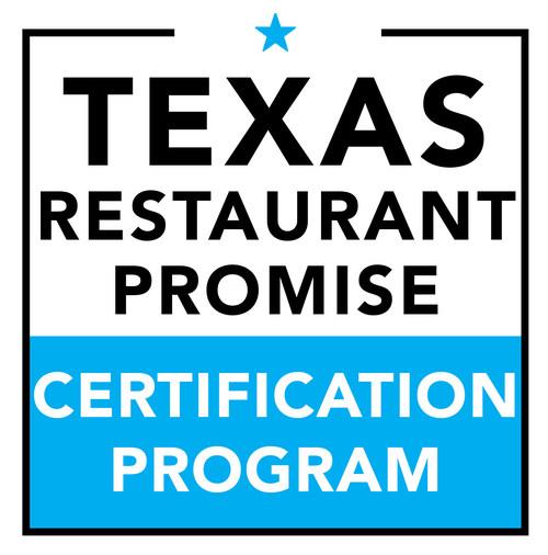 Texas Restaurant Promise Certification Program