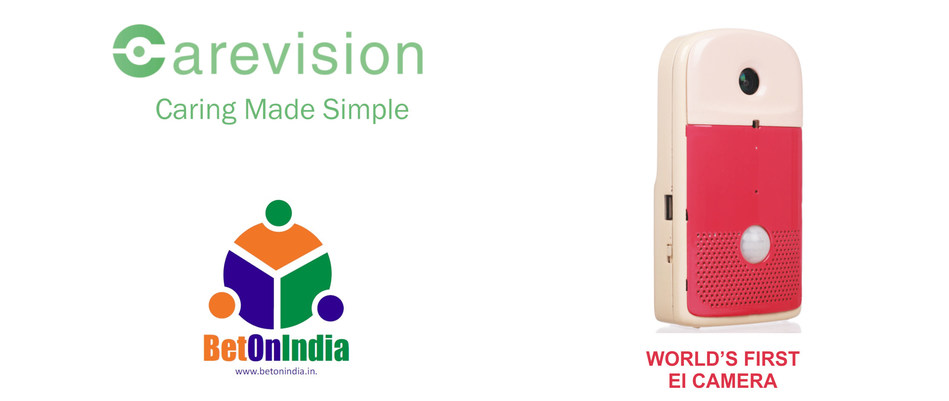 CareVision (CV) - World's First EI Camera - Brought to you by the team at BetOnIndia Technology Private Limited