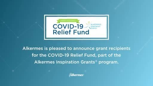 Alkermes Awards COVID-19 Relief Fund Grants