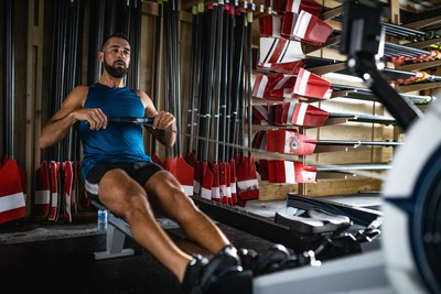 RBC Training Ground graduate and Future Olympian Charles Alexander trains with Rowing Canada as a member of their 2019 NextGen Team. (CNW Group/RBC)