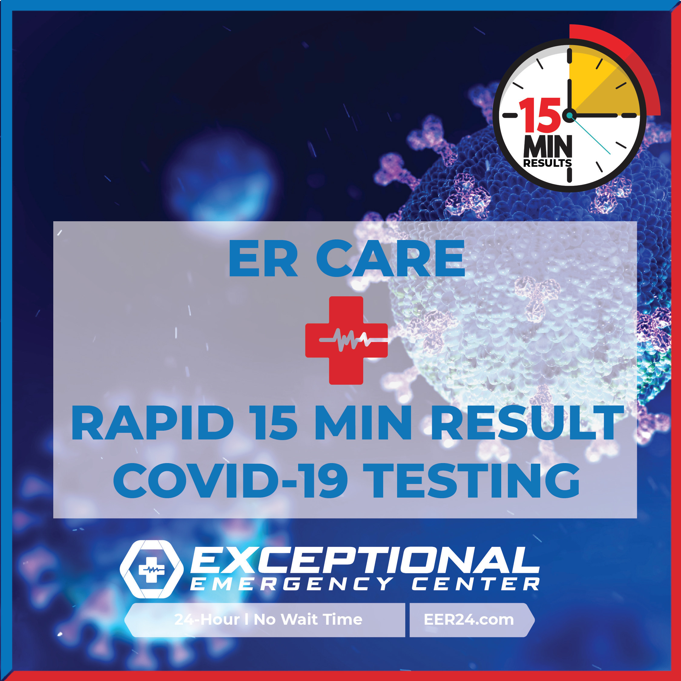 Rapid Covid 19 Testing Now Available At All Exceptional Emergency Center Locations In Texas