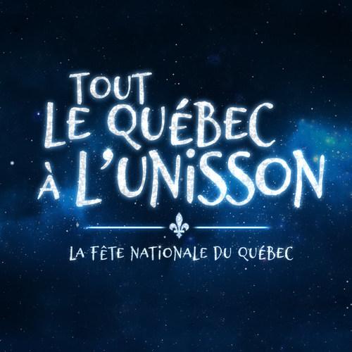 Le Grand spectacle de la Fête nationale « TOUT LE QUÉBEC À L'UNISSON ». (Groupe CNW/MOUVEMENT NATIONAL DES QUEBECOISES ET QUEBECOIS)