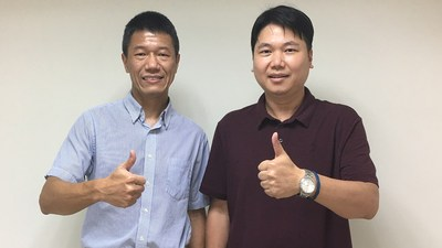 Left: Mr. Albert Chang, Corporate Vice President and Co-Head of the AIoT Business Group, ASUS. Right: Mr. David Chou, CEO, Deep01