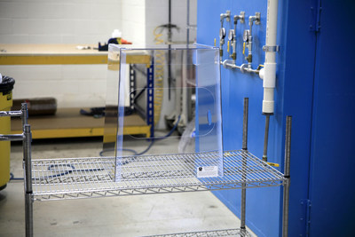 Protective barrier enclosure by Magee Plastics Company