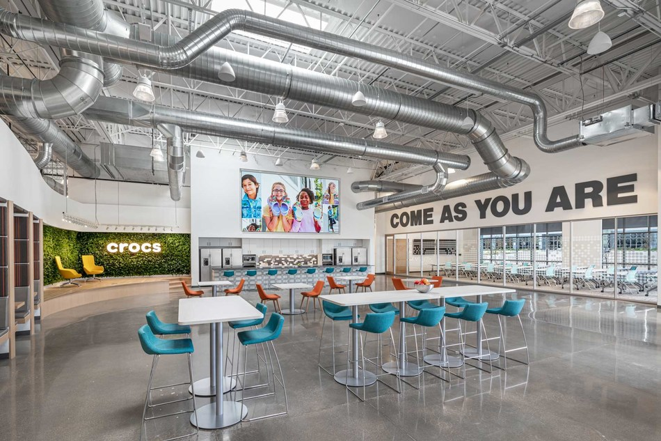 Crocs unveils its new state-of-the-art corporate headquarters in Broomfield, Colorado. The approximately 90,000 square foot facilitywill allow the company tosignificantly expand its ability to hire morefull-time jobs.