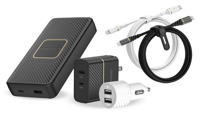 OtterBox introduces a robust new line of power products, from fast charging power banks to at-home charging solutions for every device.