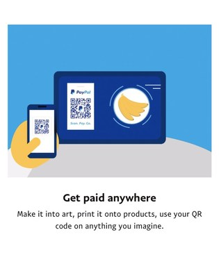 Canadians can now use QR codes to buy and sell goods with the PayPal app. (CNW Group/PayPal Canada)