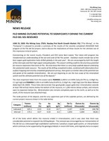 Filo Mining Outlines Potential to Significantly Expand the Current Filo Del Sol Resource (CNW Group/Filo Mining Corp.)