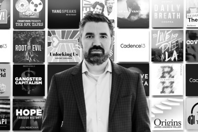 Chris Corcoran, Chief Content Officer, Cadence13 and Executive Producer, C13Features (Courtesy/Cadence13)