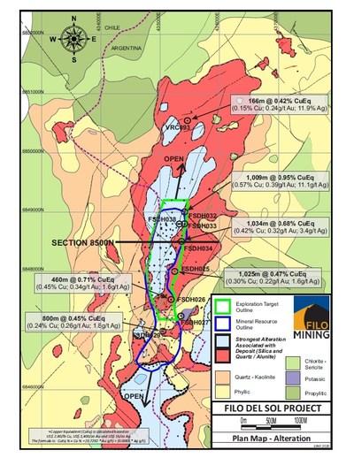 FIL Plan Map (CNW Group/Filo Mining Corp.)