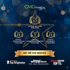 CMG Financial Loan Officers Recognized by Scotsman Guide, Mortgage Executive Magazine, and National Mortgage News