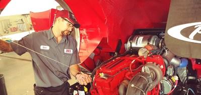 Ben Phelps, UTI-Orlando Graduate, keeps ambulances, fire engines and other emergency vehicles running.