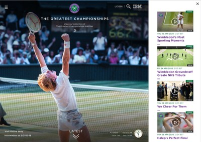 IBM and Wimbledon - The Greatest Championships