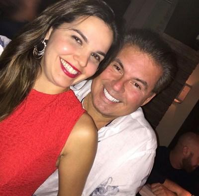 Romulo Maiorana e esposa, Ana Lazera Maiorana.