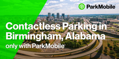 """""""The City of Birmingham, Alabama, is happy to partner with ParkMobile to provide our downtown with a contactless payment option for parking,"""" says Randall L. Woodfin, Mayor of Birmingham."""