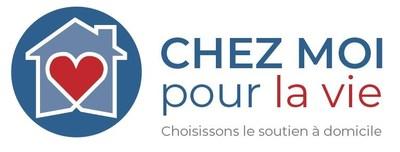 Logo de Chez moi pour la vie (Groupe CNW/Réseau de coopération des entreprises d'économie sociale en aide à domicile)