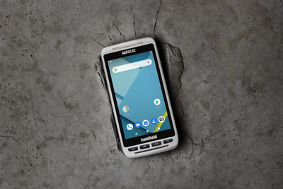 Handheld announces a new version of its popular NAUTIZ X2 all-in-one Android rugged computer (PRNewsfoto/Handheld Group)