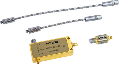 Anritsu introduces high-frequency bias tees, DC block, and semi-rigid cables to address emerging high-speed design test requirements.