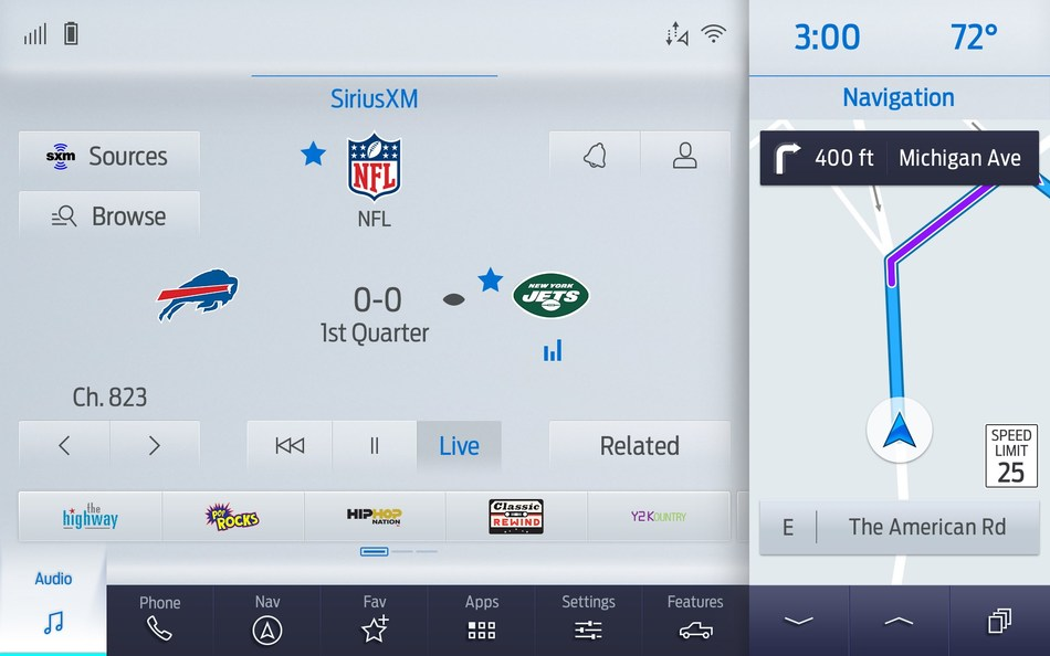 SiriusXM with 360L's enhanced sports play-by-play offering gives listeners access to the official broadcasts for more pro and college teams.