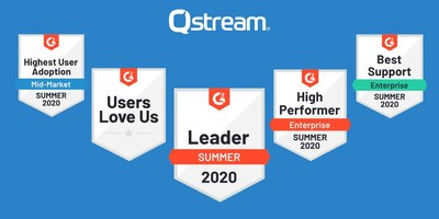 Qstream Recognized by G2 Crowd as a Leader for Microlearning Technology.