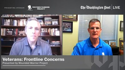 Wounded Warrior Project experts discussed the challenges facing veterans