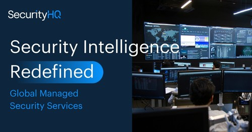 Security Intelligence Redefined. SecurityHQ is a Global Managed security service provider, that monitors networks 24/7, to ensure complete visibility and protection against your cyber threats.  Threats can be both external and internal. Which means that the right combination of tools, skills, people and processes are essential, to proactively and effectively manage, detect and defend your environment from all malicious activity. (PRNewsfoto/SecurityHQ)