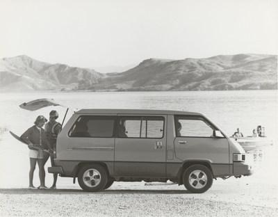 1984 Van Wagon (Groupe CNW/Toyota Canada Inc.)