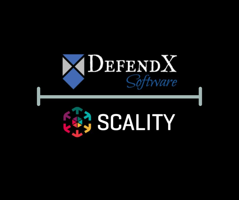 DefendX is now seamlessly combined with Scality's Object Storage portfolio.