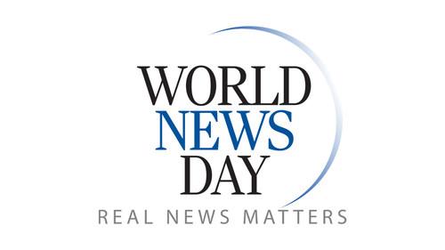 World News Day logo. (CNW Group/Canadian Journalism Foundation)