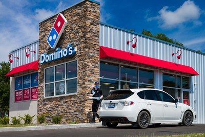 Domino's Carside Delivery is a new contactless carryout option that customers can choose when placing a prepaid online order, and it is now available in stores across the U.S.