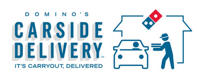 Domino's is now offering yet another way for customers to carry out their favorite order: via Domino's Carside Delivery.
