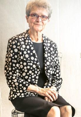 Soeur Madeleine Juneau (1945-2020) ©Éric Gourdon (Groupe CNW/Maison Saint-Gabriel, musée et site historique)
