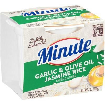 Minute Garlic & Olive Oil Jasmine Rice