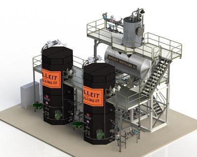 Diageo Lebanon Distillery Electrode Boilers Rendering