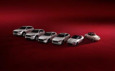 Les modèles édition 100e anniversaire (Groupe CNW/Mazda Canada Inc.)