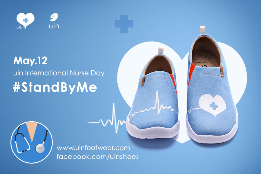 Art Travel Shoe Brand UIN Footwear Gives Away Shoes to Frontline Nurses Worldwide