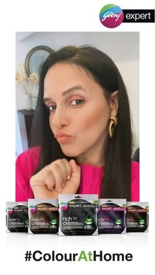 After owning the space of hair colouring during the lockdown, Godrej Expert Rich Crème is keeping the conversation ongoing through this digital association with Neha Dhupia.