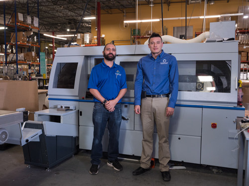 JohnHenry Ruggieri, President and Andres Rodriguez, Production Manager