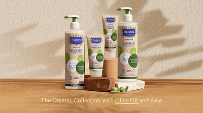 Mustela Organic Collection with Olive Oil and Aloe