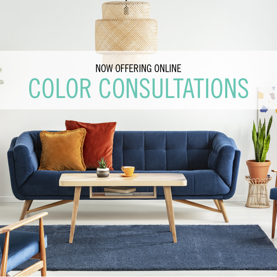 """Dunn-Edwards Paints has announced that they are now offering Online Color Consultations for interior and exterior projects. Since we are all spending more time at home, the team wanted to continue to inspire new projects in safe, easy ways. """"We felt that now was the perfect time to create an online tool to help our consumers get color confident,"""" said Sara McLean, color expert and stylist for Dunn-Edwards."""