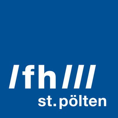 St. Pölten University of Applied Sciences Logo (PRNewsfoto/St. Pölten University)