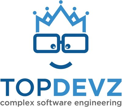 TopDevz is a team of elite software developers, designers, project managers and quality assurance testers who live and work in the United States and Canada on some of the Nation's most sophisticated software development initiatives. (PRNewsfoto/TopDevz)