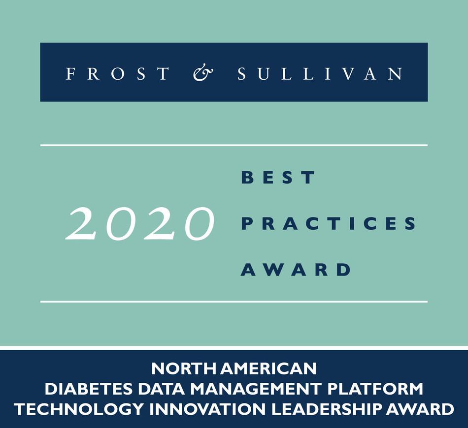 2020 North American Diabetes Data Management Platform Technology Innovation Leadership Award