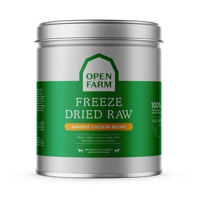 Open Farm Freeze Dried Raw