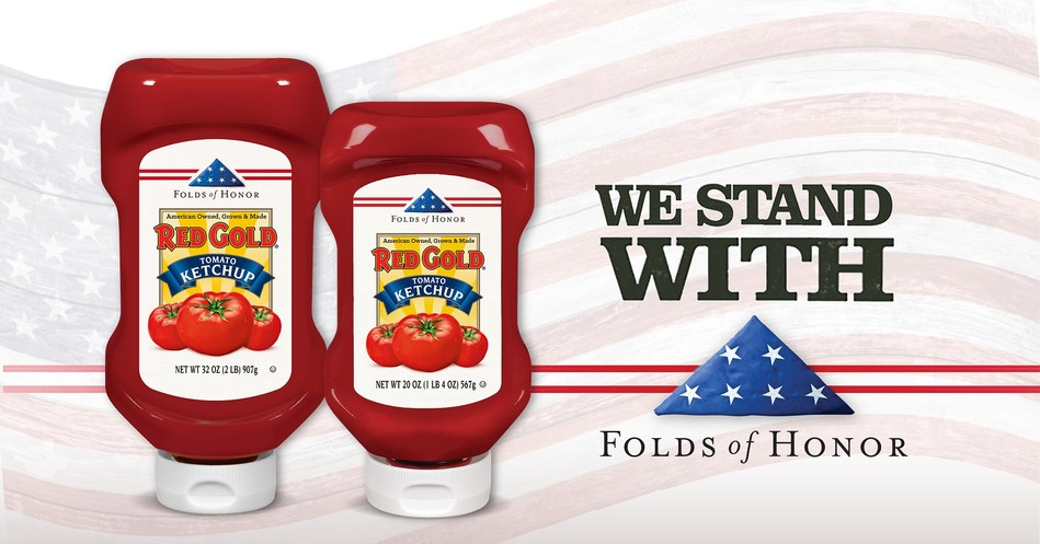 Americans can Honor Military Families through Red Gold Tomatoes and Folds of Honor's Ketchup with a Cause program